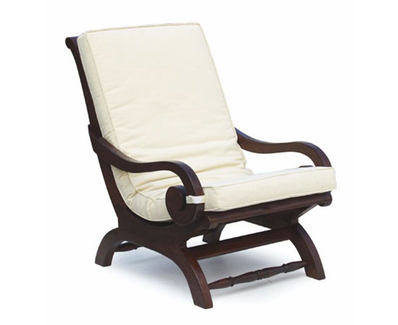 Capri Plantation Chair Cushion Lindsey Teak