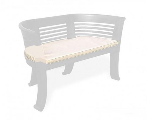 Natural 2-Seater Kensington Bench Cushion