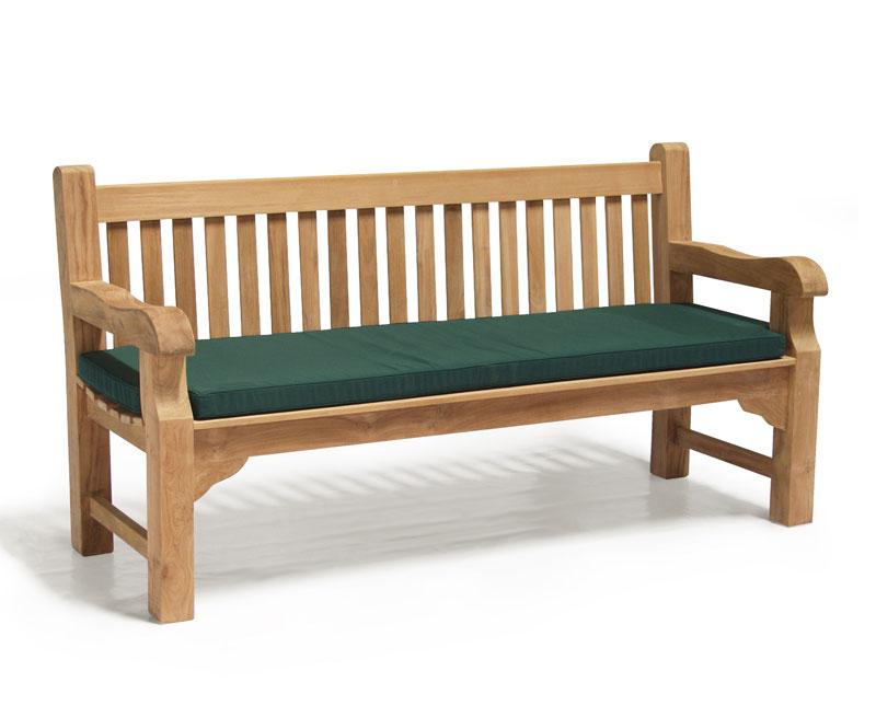 Outdoor 6ft Bench Cushion Lindsey Teak