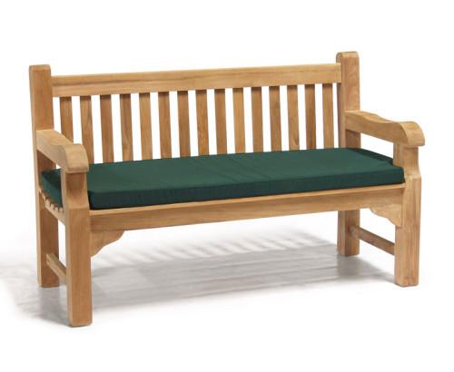 patio 5ft bench cushion 60 inch bench cushion lindsey teak. Black Bedroom Furniture Sets. Home Design Ideas