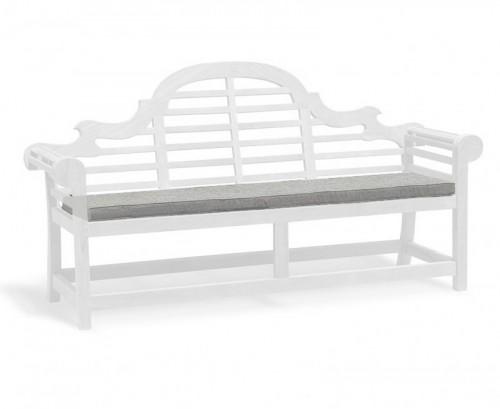 Grey Marl 4-Seater Lutyens-Style Bench Cushion