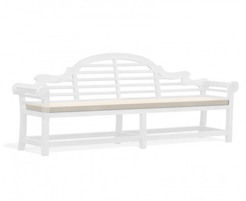 Natural 6-Seater Lutyens-Style Bench Cushion