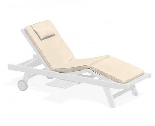 Natural Luxury Sun Lounger Cushion
