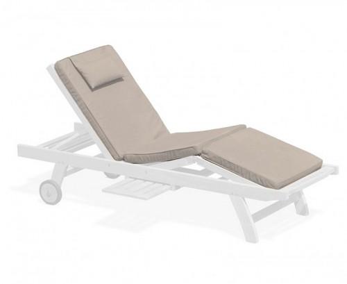 Taupe Luxury Sun Lounger Cushion