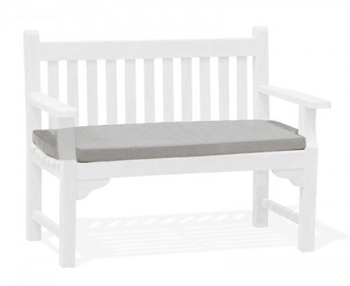 Grey Marl 2-Seater Bench Cushion