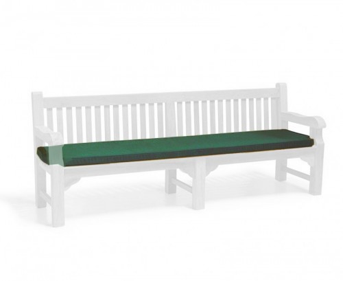 Forest Green 2.4m Outdoor Bench Cushion