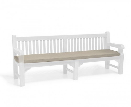 Taupe 2.4m Outdoor Bench Cushion