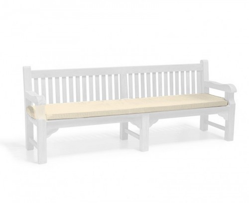 Natural 2.4m Outdoor Bench Cushion