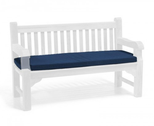 Navy Blue 3-Seater Outdoor Cushion