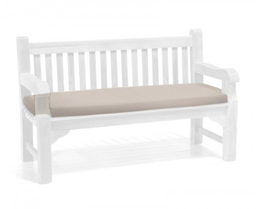 Taupe 3-Seater Outdoor Cushion