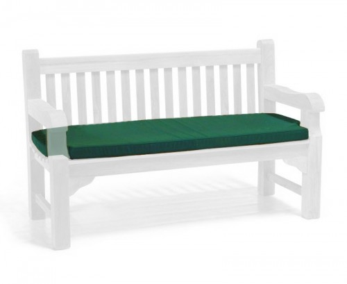 Forest Green 3-Seater Outdoor Cushion