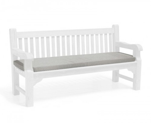 Grey Marl 4-Seater Outdoor Bench Seat Cushion