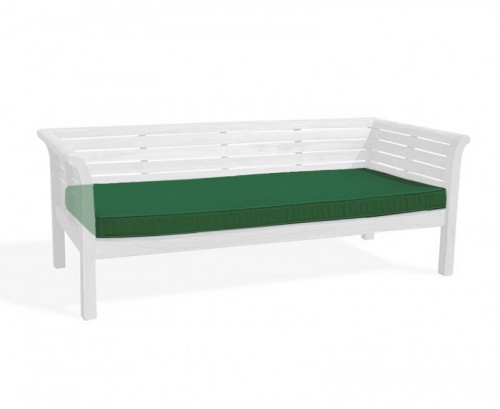 Forest Green 2m Outdoor Daybed Cushion