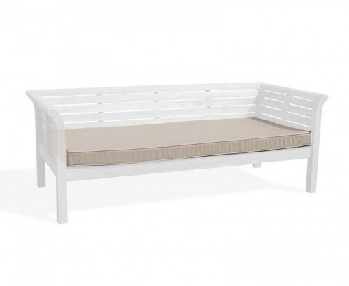 Taupe 2m Outdoor Daybed Cushion