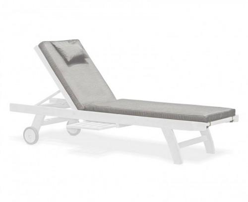 Grey Marl Sun Lounger Cushion