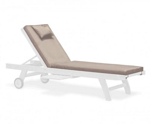 Taupe Sun Lounger Cushion