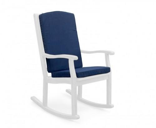 Navy Blue Rocking Chair Cushion