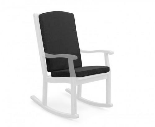 Black Rocking Chair Cushion