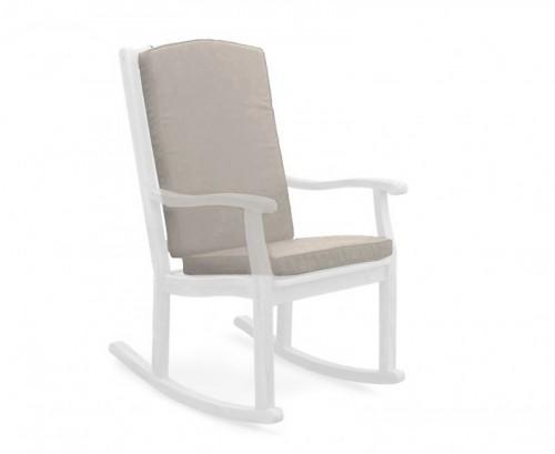 Taupe Rocking Chair Cushion