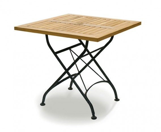 Outdoor Square Bistro Table And 4 Chairs