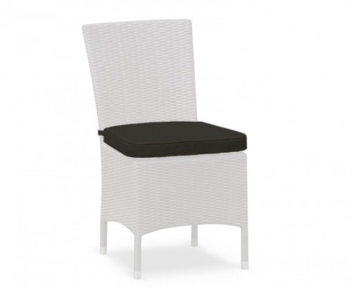 Black Riviera Garden Chair Cushion