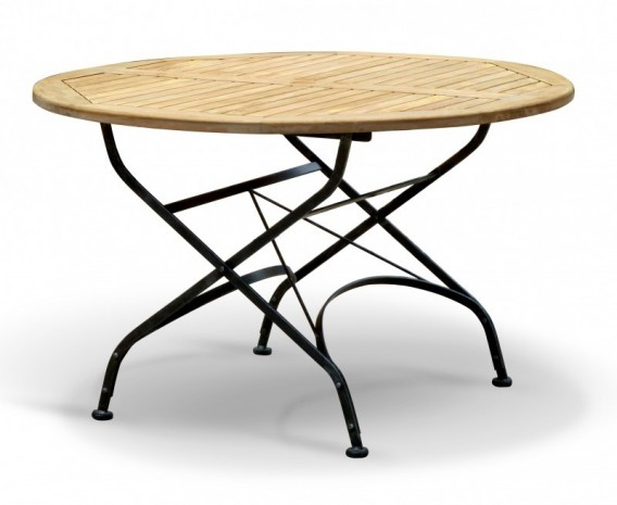 ... Round Garden Bistro Table And 4 Arm Chairs  ...