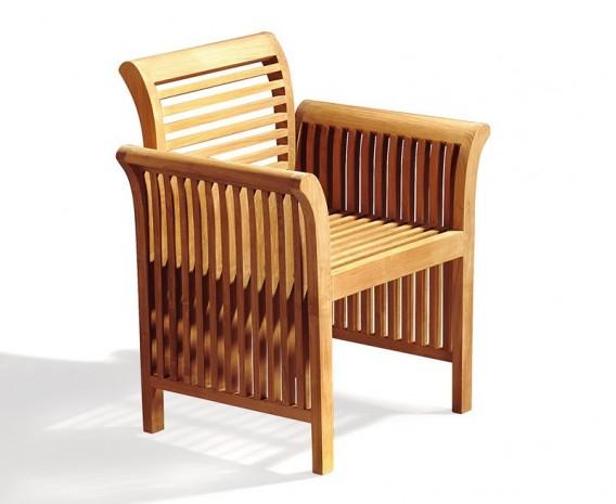 Aero Round Garden Table And 6 Chairs Set Lindsey Teak