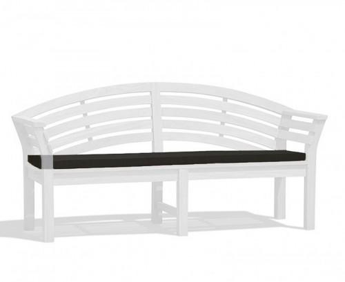 Black Salisbury Bench Cushion