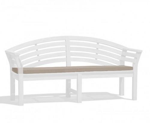 Taupe Salisbury Bench Cushion