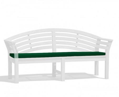Green Salisbury Bench Cushion
