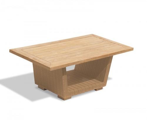 Honey Wicker Sorrento Rattan Coffee Table
