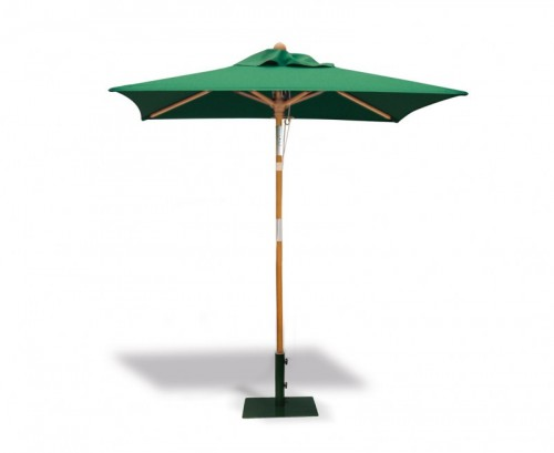 Green 2m Square Parasol