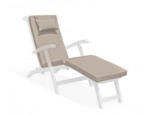 Taupe Steamer Chair Cushion