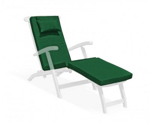 Forest Green Steamer Chair Cushion