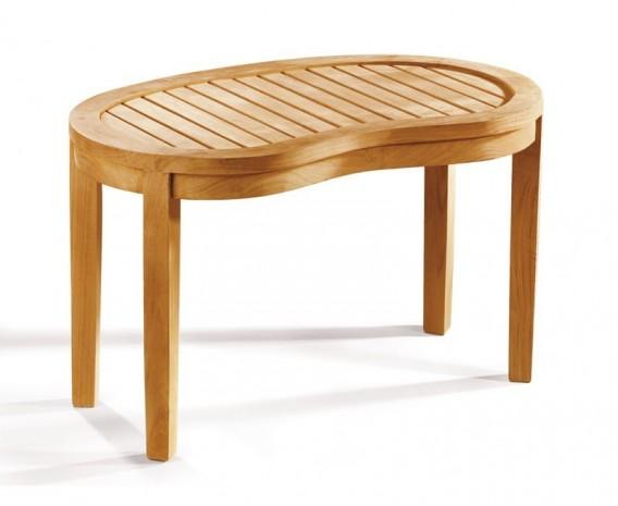teak banana bench and coffee table set 2 lindsey teak