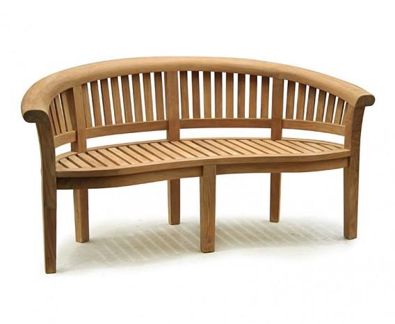teak banana bench and coffee table set lindsey teak