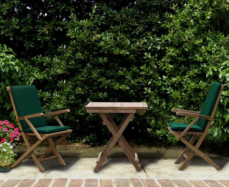 teak-patio-garden-folding-table-and-chairs-set- ... & Rimini Patio Garden Folding Table and Chairs Set - Outdoor 2 Seater ...