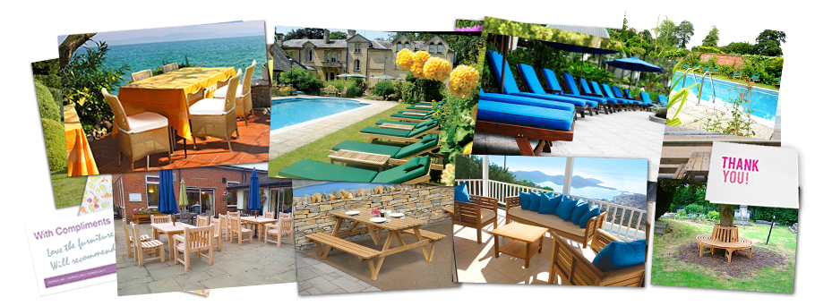 Testimonials contract outdoor furniture
