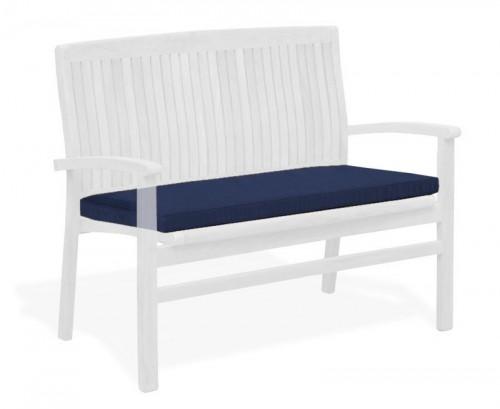 Navy Blue Bali Bench Cushion