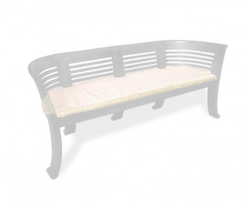Natural Kensington 3-Seater Bench Cushion