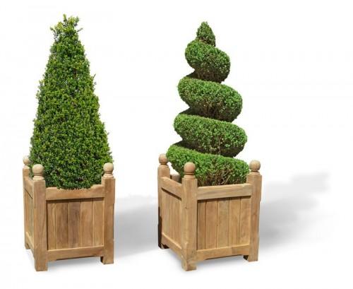 Square Garden Planters - lindseyteak