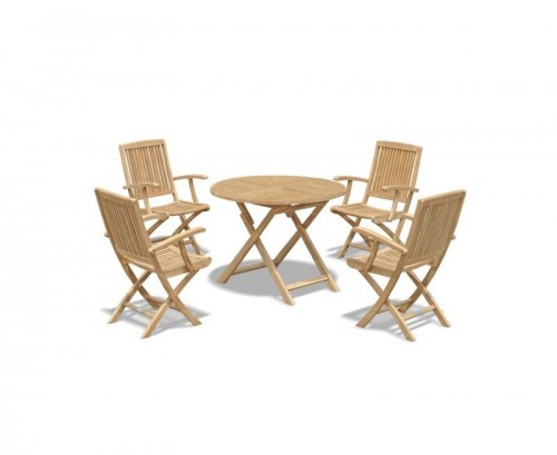 suffolk-round-folding-garden-table-1m-and-4-armchairs-set