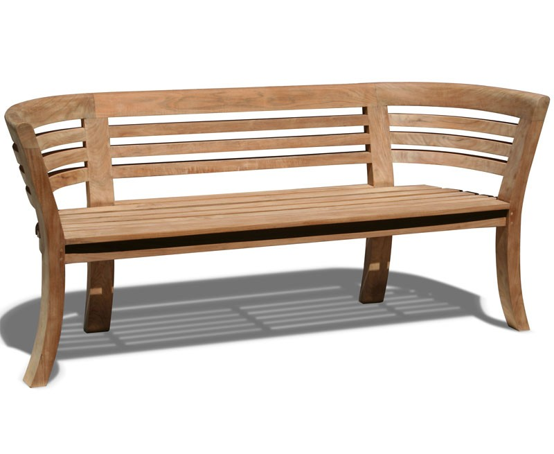 Kensington 4 Seater Outdoor Bench Lindsey Teak